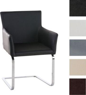 Freischwinger Stühle Mit Armlehne freischwinger stuhl pirus mit armlehne gepolstert modern sitzhöhe