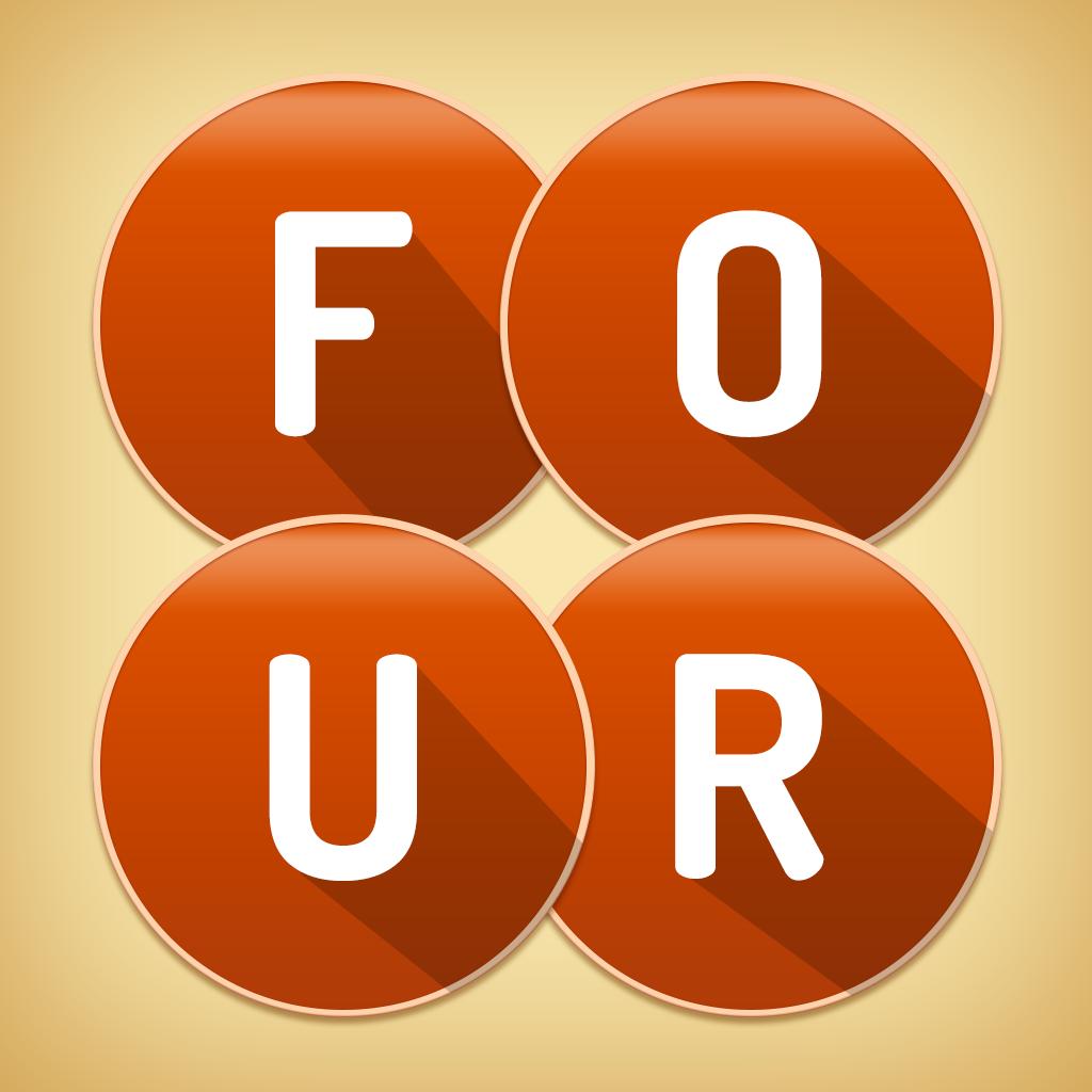 Four Letters App Icon App icon, Ios app icon