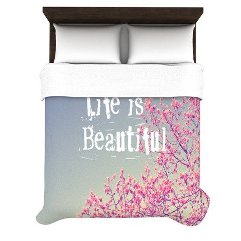 68 X 88 KESS InHouse Theresa Giolzetti Big Wave Twin Comforter