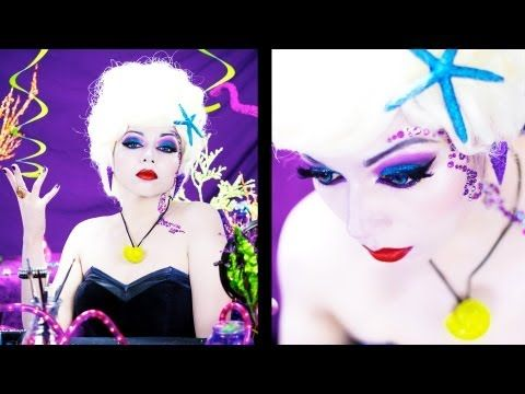 Ursula Glam Inspired Makeup!    I'm not ready for Halloween to be over. Inspiring costume makeup is everywhere.