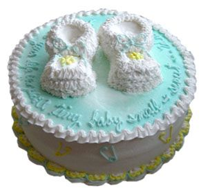 BUTTER CREAM BABYSHOWWER CAKES | ... Buttercream Icing Your Choice Of Cake  Flavor Baby