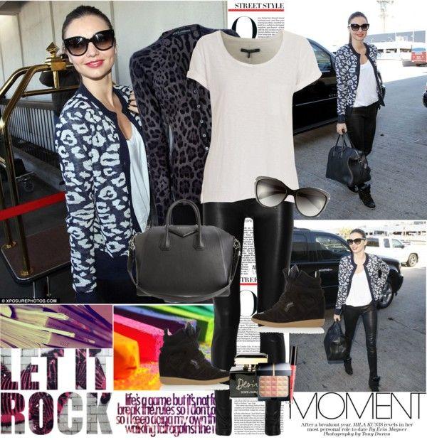 """Celebrity Style: Miranda Kerr (29/01/2013)"" by lulys2nano ❤ liked on Polyvore"
