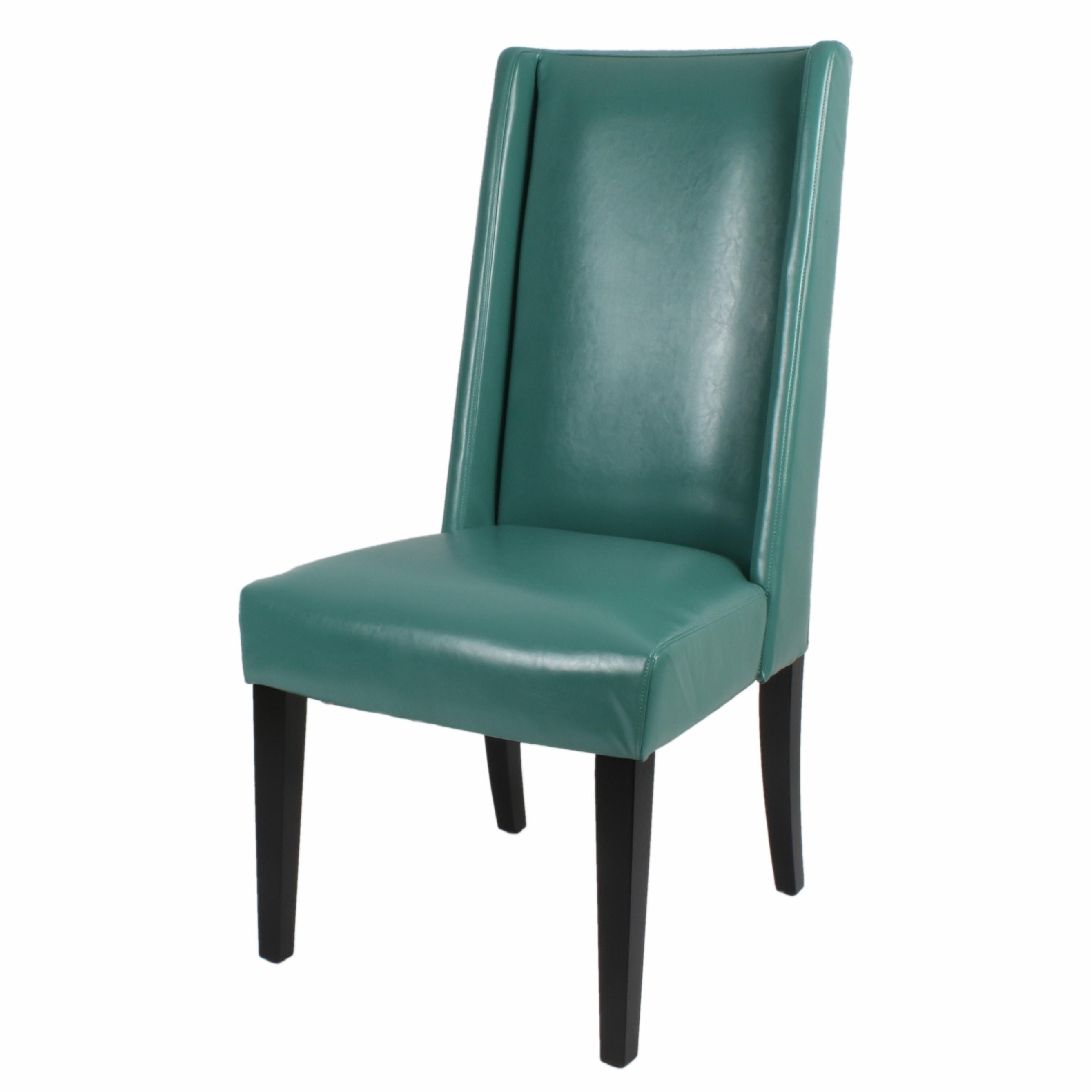 Four In Stock Lucca Turquoise Dining Chair 22 00 W 27 00 D 44 50 H Rent 17 Buy 119 Chair Side Chairs Turquoise Dining Chairs