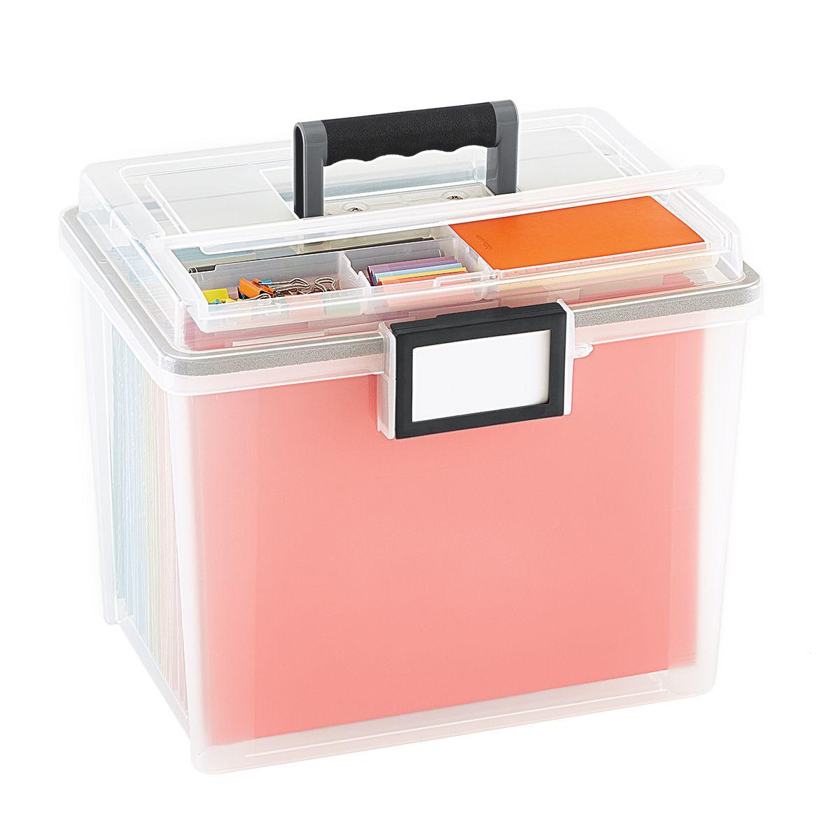 Watertight Portable File Tote