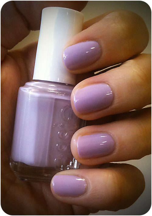 Lilac Nails: Essie, Nice is Nice. Beauty and the Brunette | The Make ...