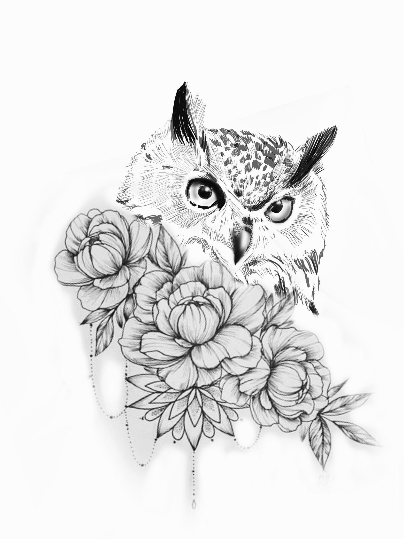 Mykinglist Com Owl Tattoo Drawings Tattoos Sleeve Tattoos