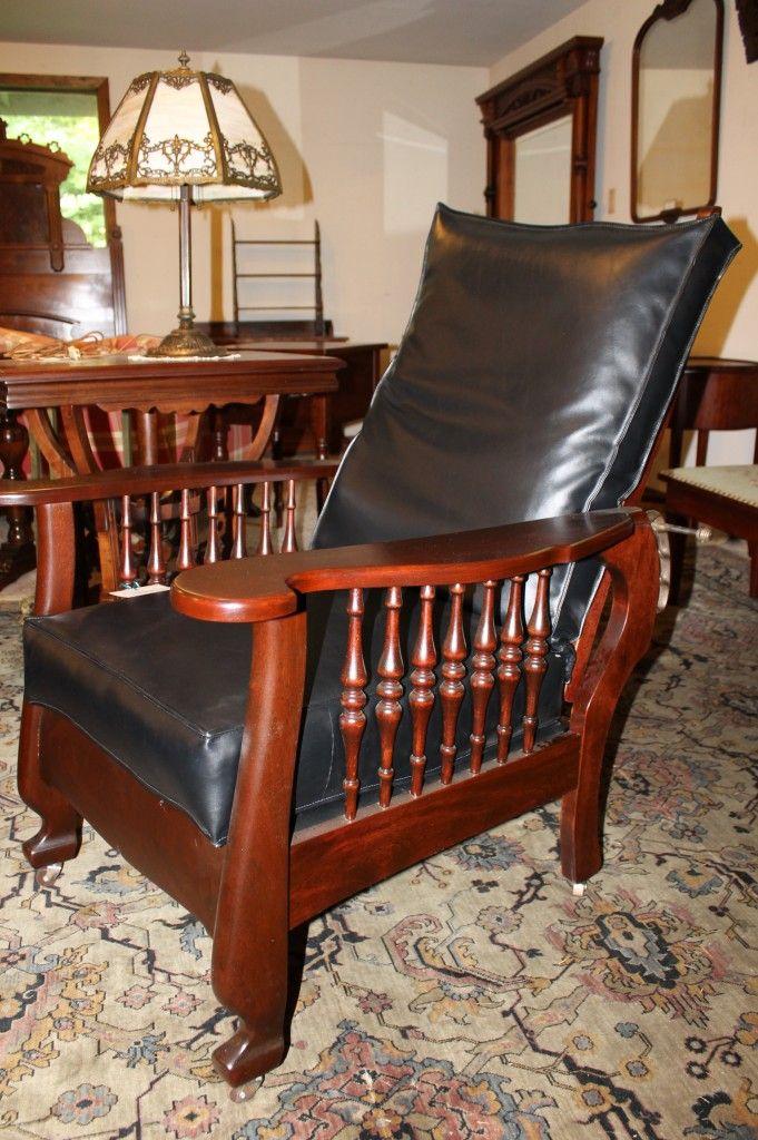 Mahogany Morris Chair