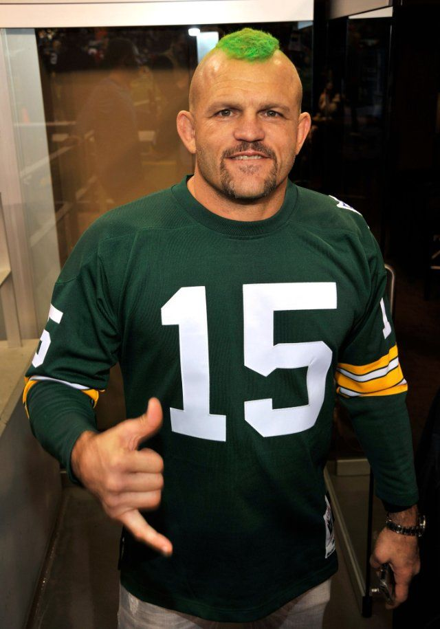 Chuck The Iceman Liddell Packer Fan The Green Bay Packers