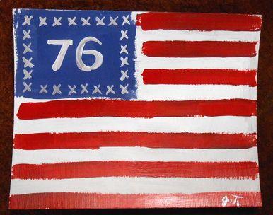 Spirit Of 76 American Flag Patriotic Painting By John Taylor American Flag Patriotic Flag