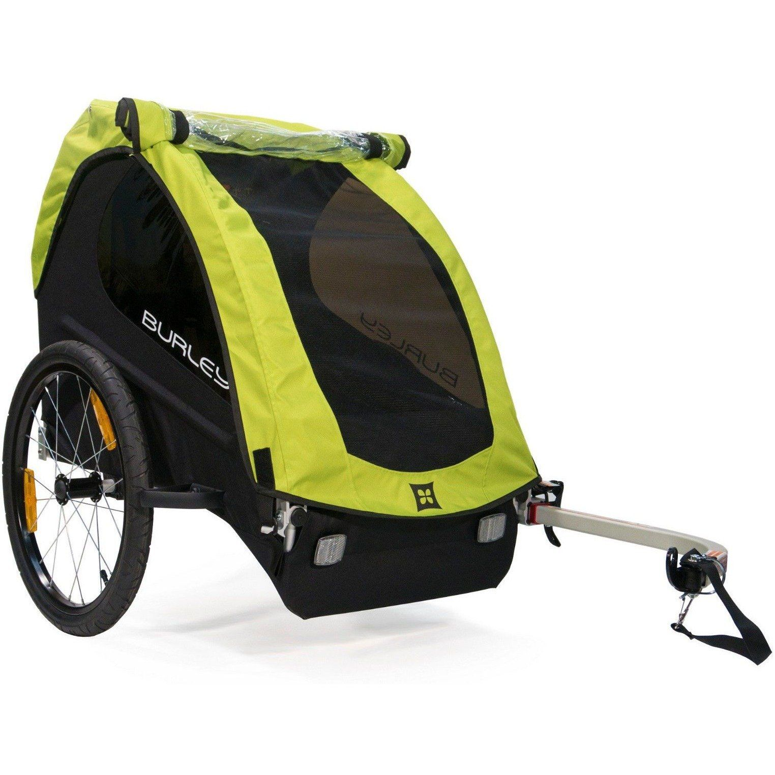Burley Minnow Compact Fold Bike Bicycle Trailer For Single