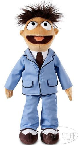 Disney Muppets Walter Large Stuffed Plush Doll The Muppet Show Movie Suit NEW
