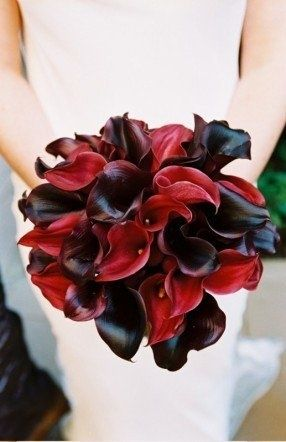 Each Order Includes 9 Stems Of Natural Real Touch Calla Lilies In Plum Top Quality Pu Petals Feels Very Similar To Flowers Gives