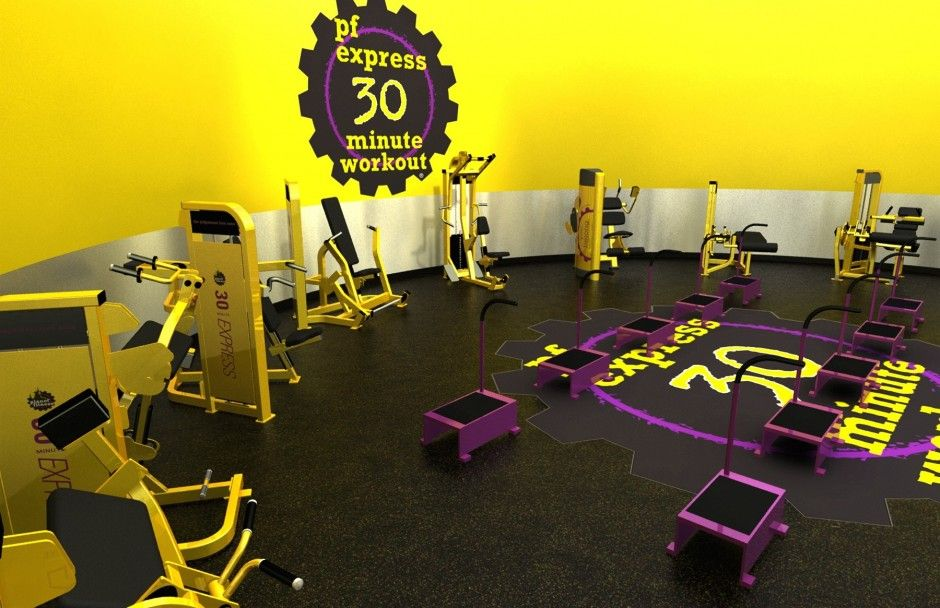 Review Planet Fitness 30 Minute Express Circuit Planet Fitness Workout Planet Fitness 30 Minute Circuit Cardio Workout
