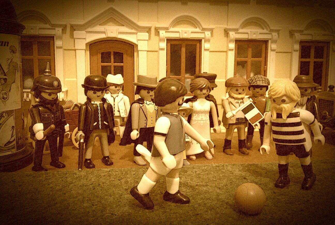 fussball städteturnier 1920  playmobil fussball