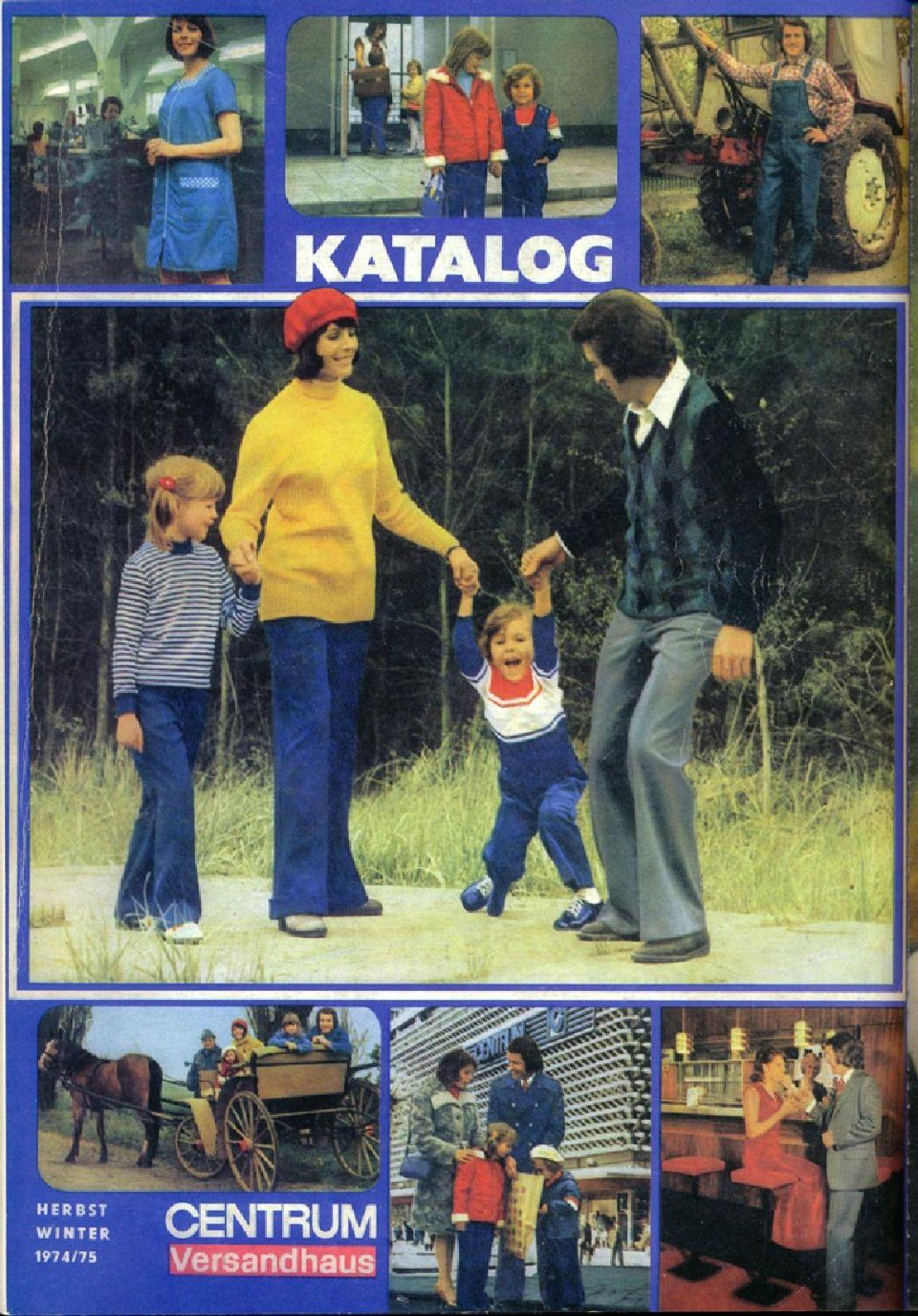 Abbildungen von Katalogen der DDR-Versandhäuser \