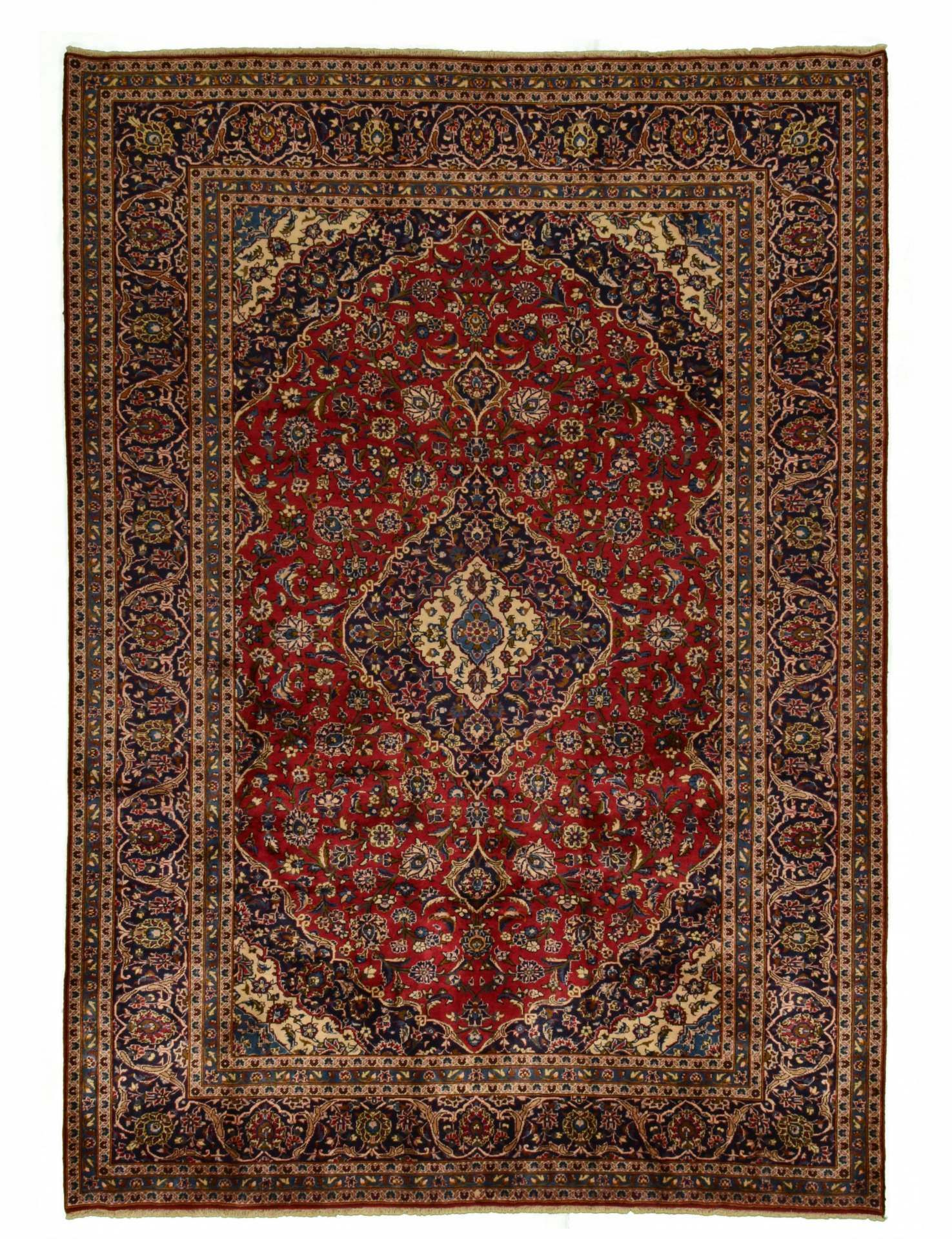 Kashan Teppich 354x254 Kashan Rug Rugs On Carpet Persian Carpet