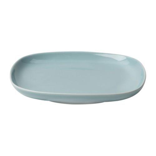 ikea ikea 365 petite assiette turquoise clair en porcelaine feldspathique pour une. Black Bedroom Furniture Sets. Home Design Ideas