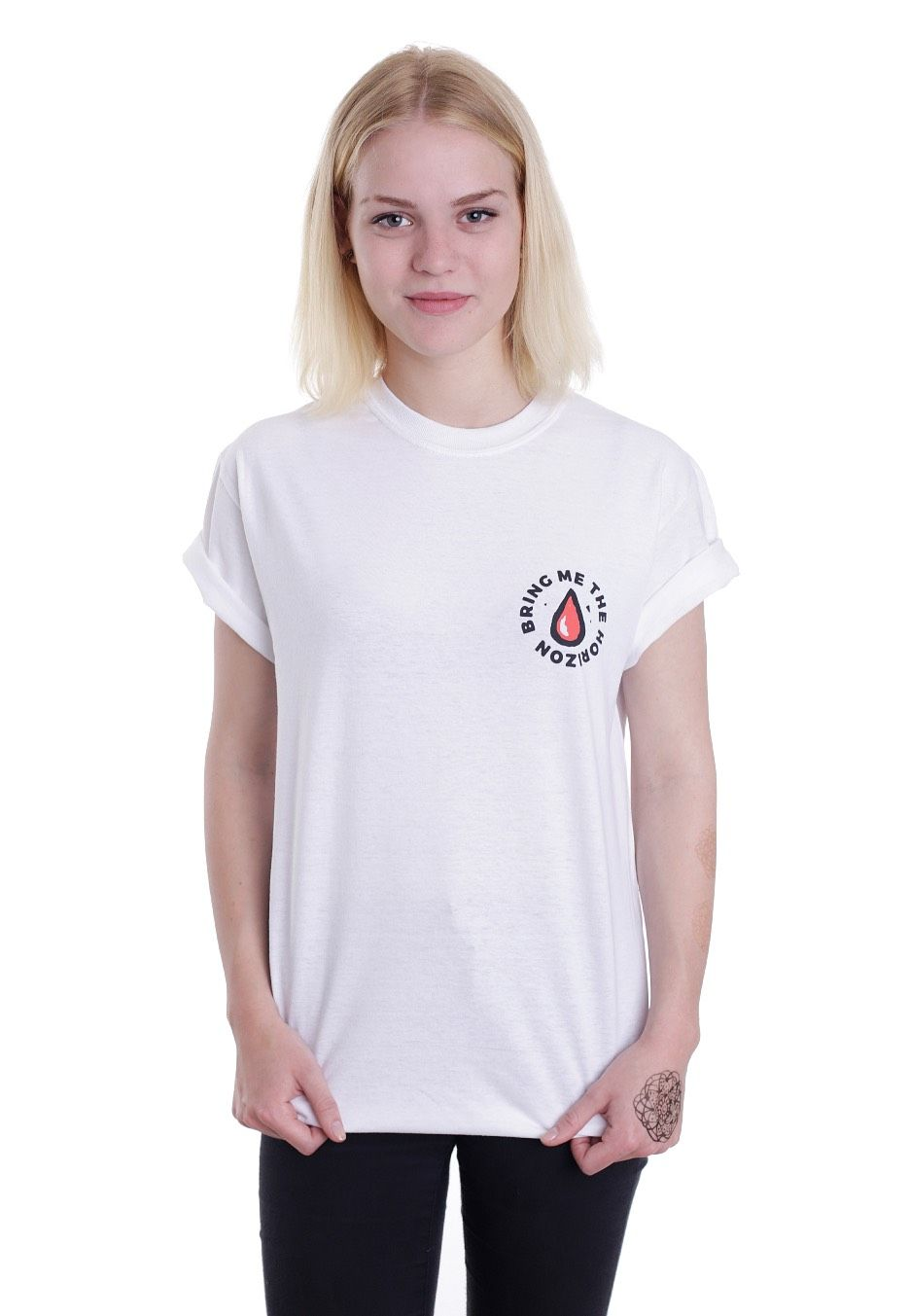 Checkout this out: Bring Me The Horizon - Vampires White - T-Shirt for 18,99€