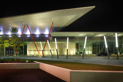 Perth Convention Exhibition Center uses Philips Automatic lighting