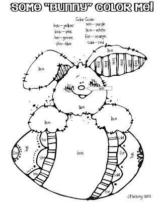 free color by number bunny easter kindergarten colors number worksheets kindergarten. Black Bedroom Furniture Sets. Home Design Ideas