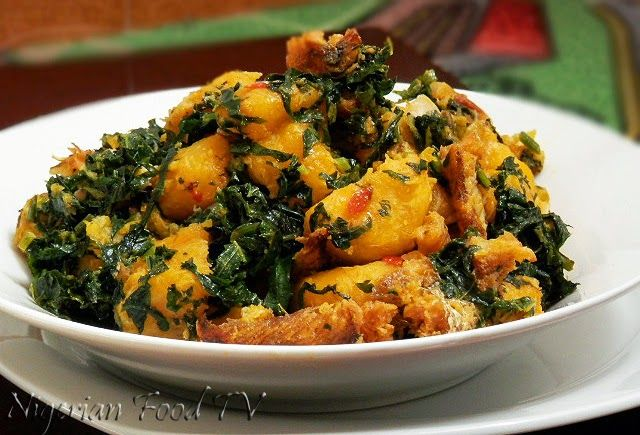 Nigerian Plantain Porridge Plantain Recipes Nigerian Food Tv