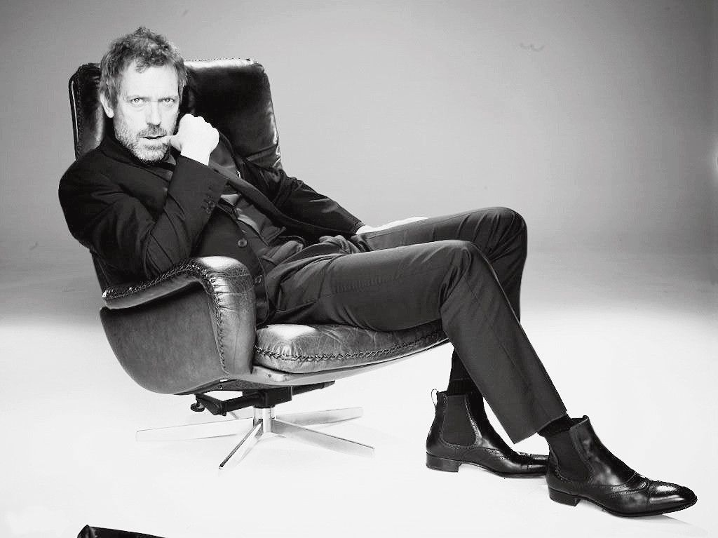 Hugh Laurie: You're Doing it Right.