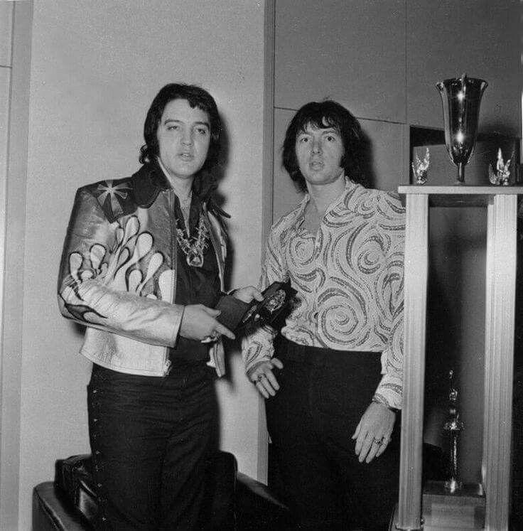 Elvis Backstage with Sean Shaver - Las Vegas Hilton