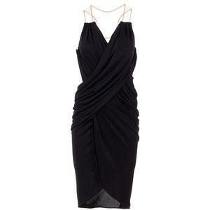 Black jersey evening dress from Alexander Wang