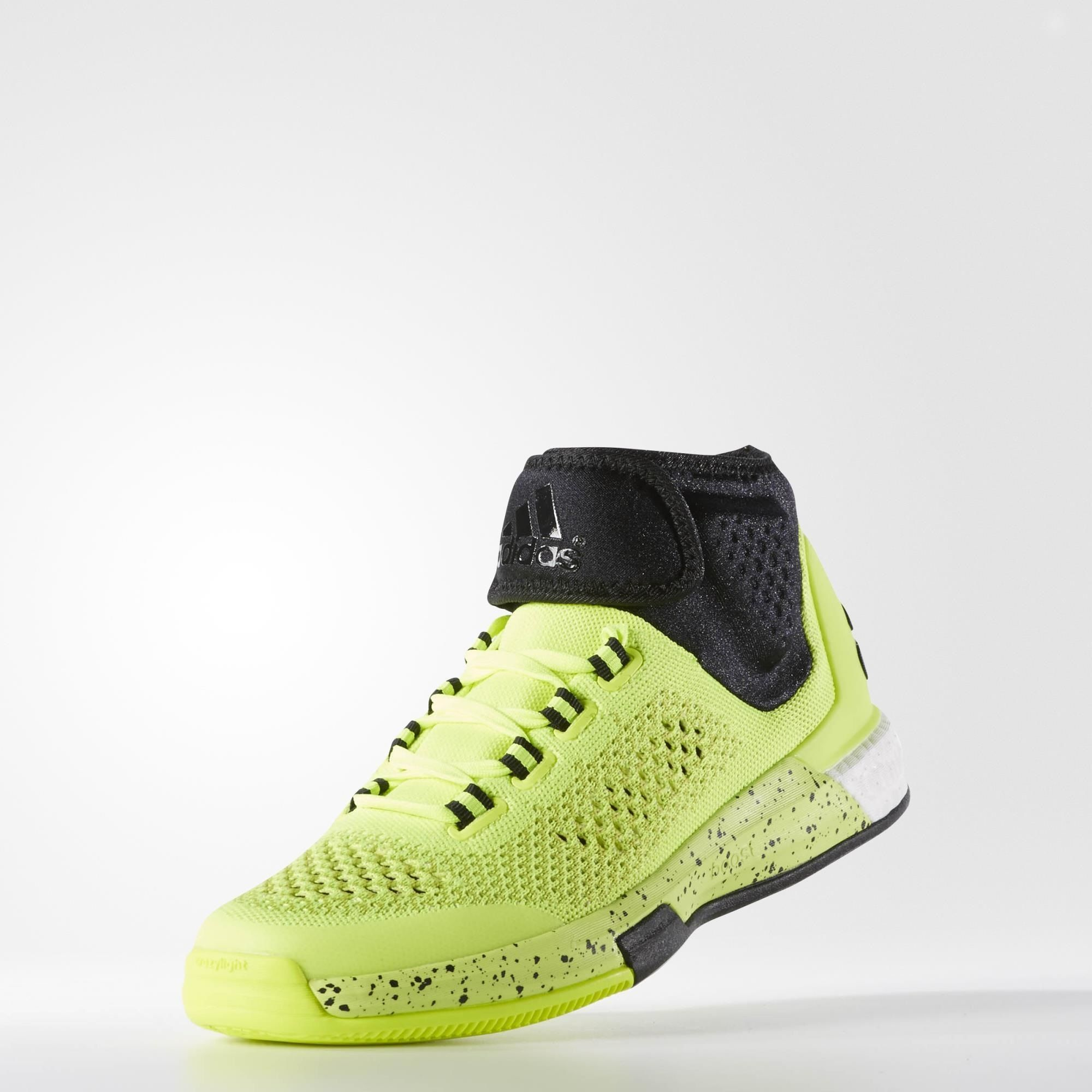 adidas 2015 Crazylight Boost Primeknit Shoes - Yellow | adidas UK