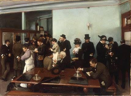 1885.......LE JOUR D ' EMPRUNT............PARTAGE DE LE PEINTRE JEAN BERAUD...........SUR FACEBOOK..........