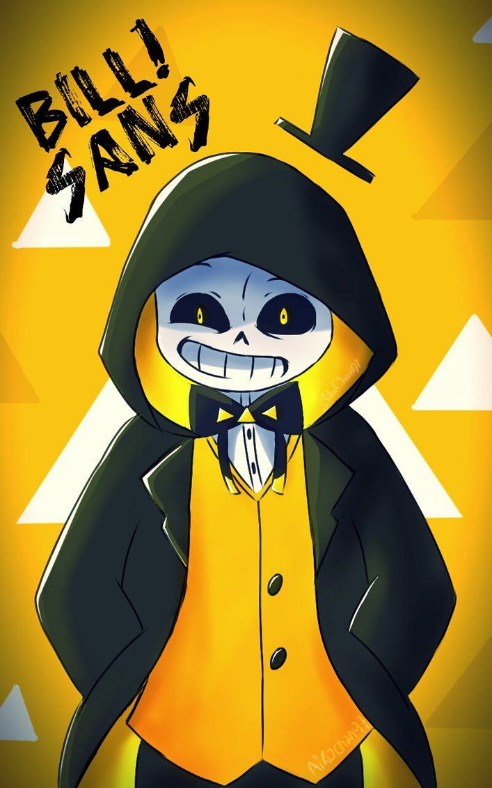 Gravity Falls Fanart Wallpaper Bill Sans By Aikochan97 By Aikochanflores Undertale