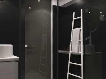 Aménager un appartement de 30 m² – Un clair et un sombre