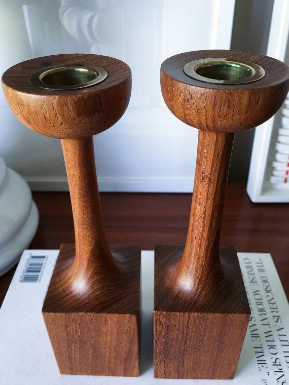Candlestick holders vintage