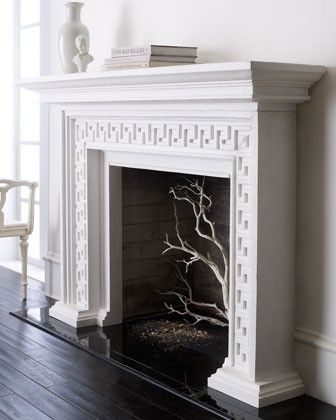 Fireplace With Greek Key Pattern Beautiful Fireplace Design Traditional Fireplace Modern Fireplace