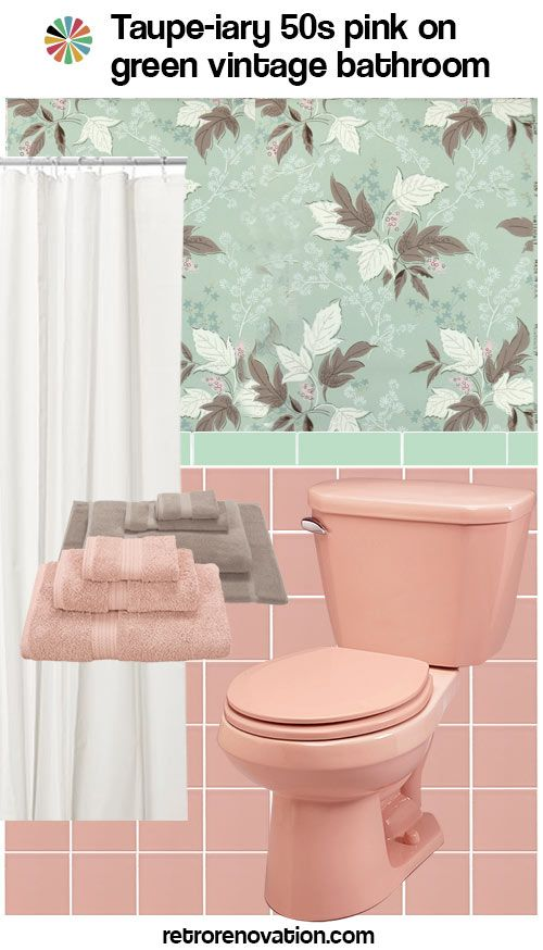 11 Ideas To Decorate A Pink And Green Tile Bathroom Green Tile Bathroom Green Bathroom Pink Bathroom