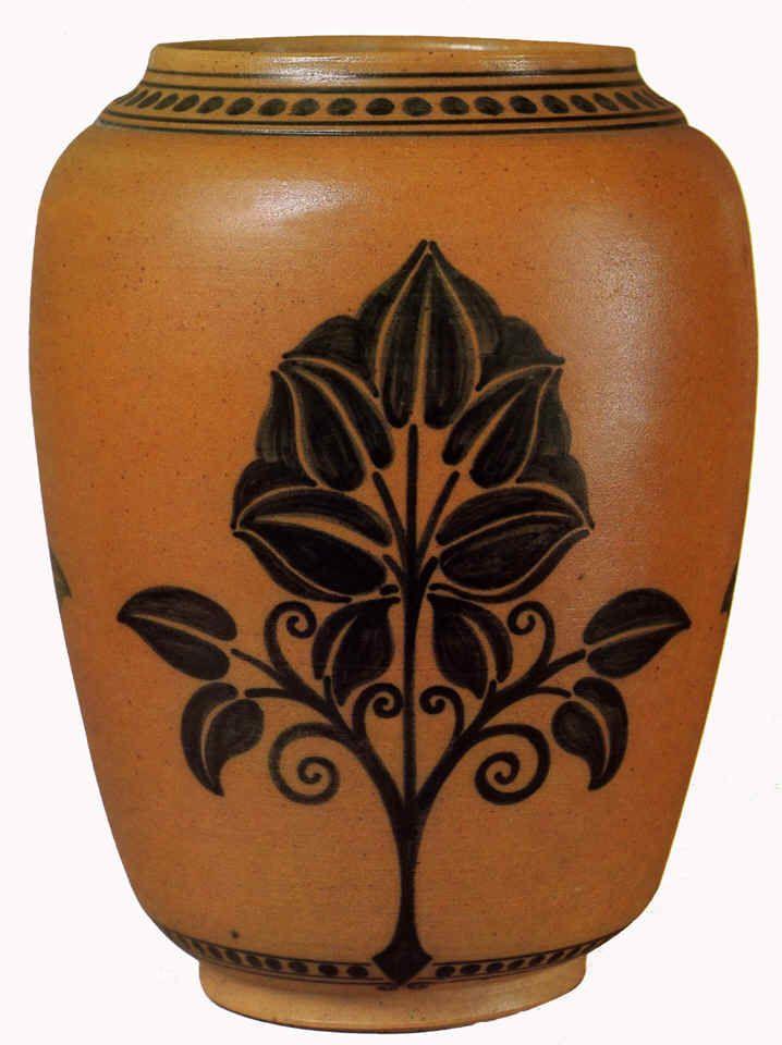 galileo chini nouveau liberte vase ceramics pottery clay