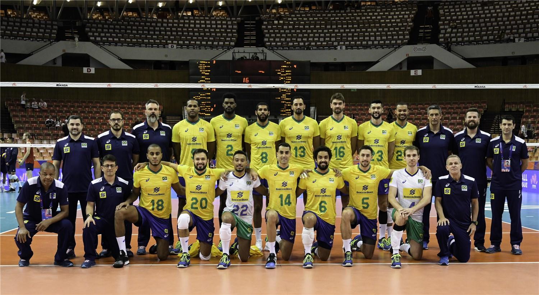 Fivb Volleyball Nations League 2018 Men S Teams Overview Brazil Fivb Volleyball Nations League 2019 Voleibol Desafios Honra