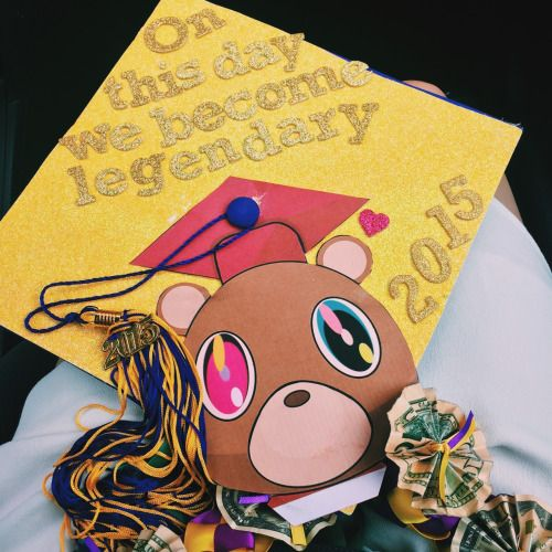 Mine Graduation Good Morning Yeezy Taught Me Jxck Y My Grad Cap College Graduation Cap Decoration Graduation Cap Decoration Kanye West Graduation Cap