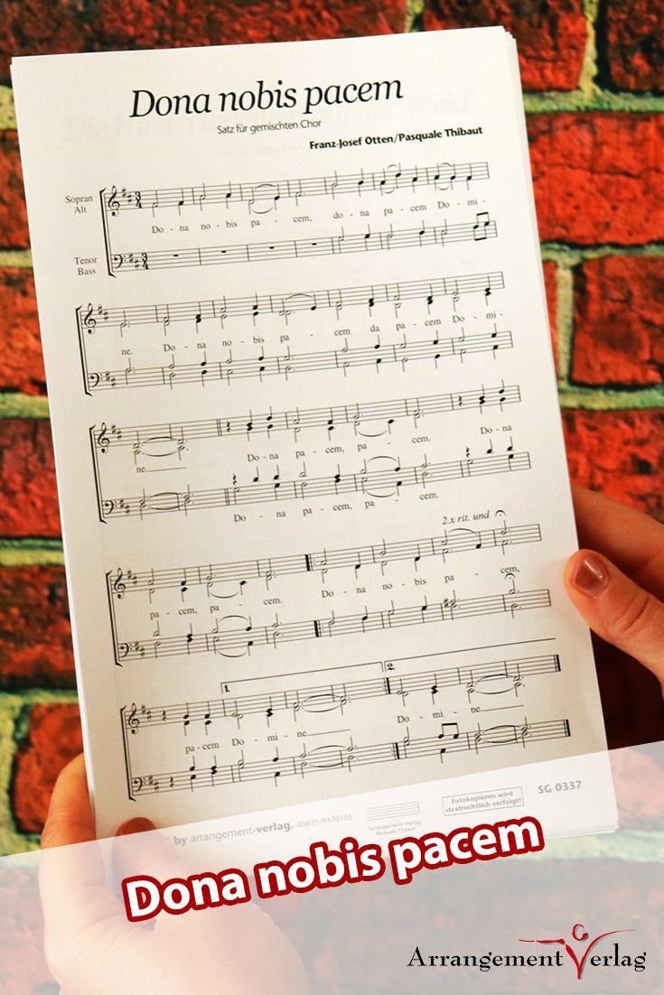 Pin von Arrangement-Verlag auf Chornoten für gemischten Chor ...