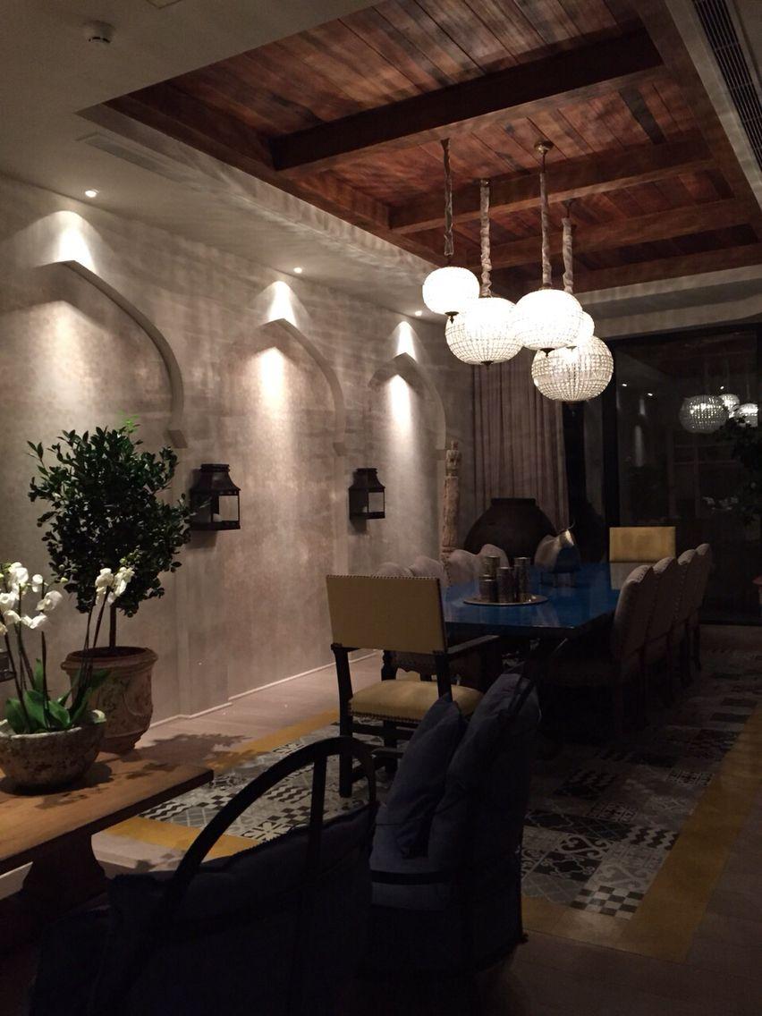Moroccan Style Privet Restaurant In Baku Design By Nader Mobargha