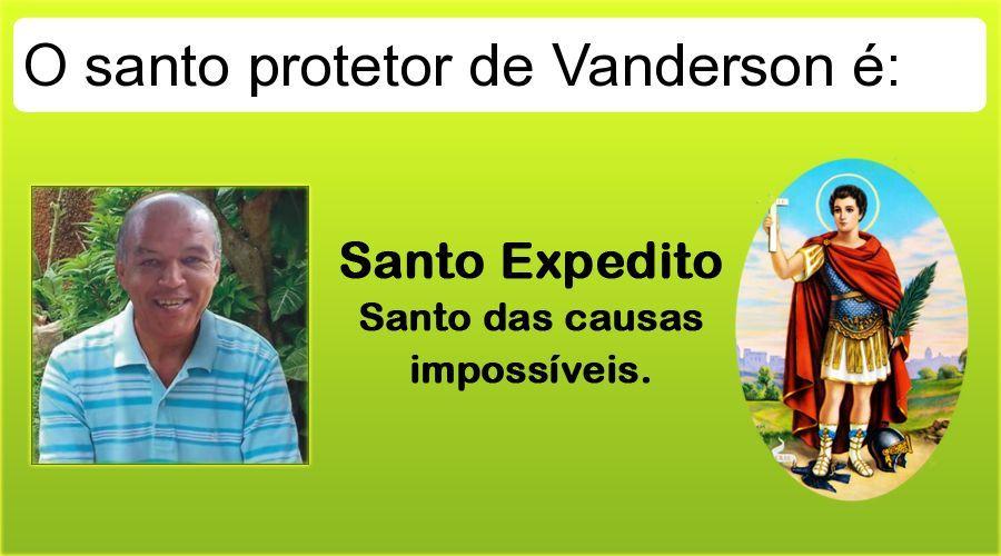 Isso que eu chamo de proteção, Vanderson!
