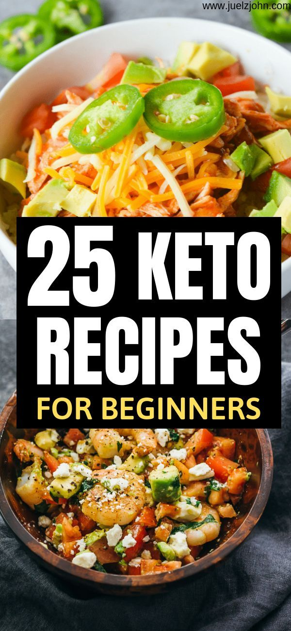 25 Easy Keto Recipes That'll Help You Lose Weight