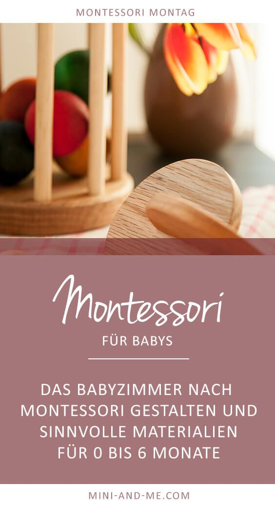 Montessori für Babys: Das Babyzimmer nach Montessori gestalten und ...