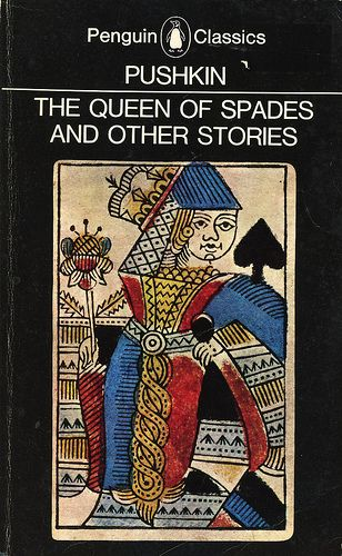 Pushkin The Queen Of Spades And Other Stories Black Penguin Classics Book Cover Art Penguin Classics Penguin Books