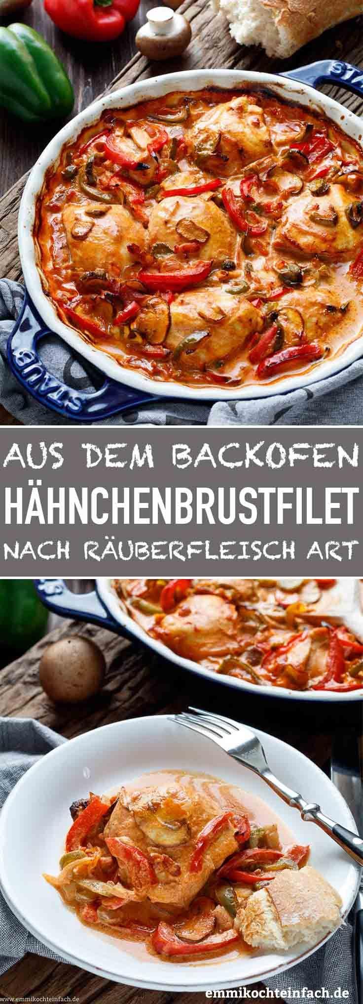 Photo of Deftige Hähnchenbrustfilets nach Räuberfleisch-Art – emmikochteinfach