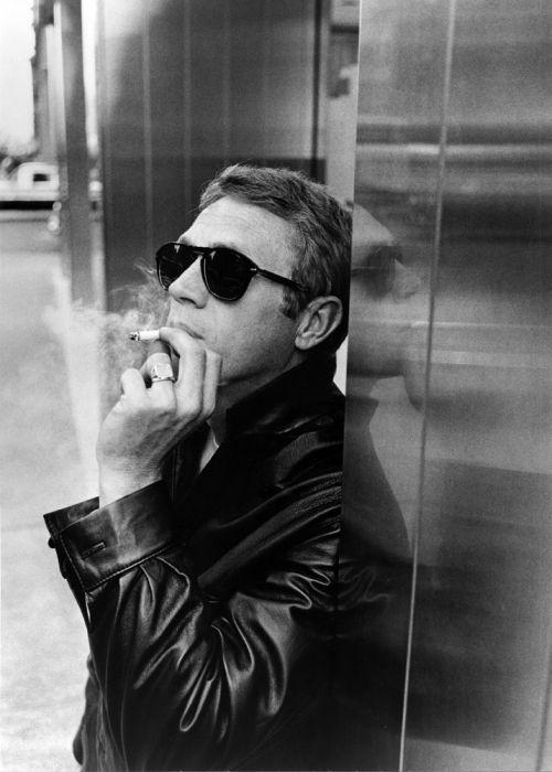 Steve McQueen fotografiado por William Claxton, 1964