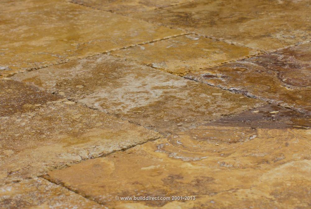 BuildDirect: Travertine Tile Antique Pattern Travertine Tile   Meandros Gold