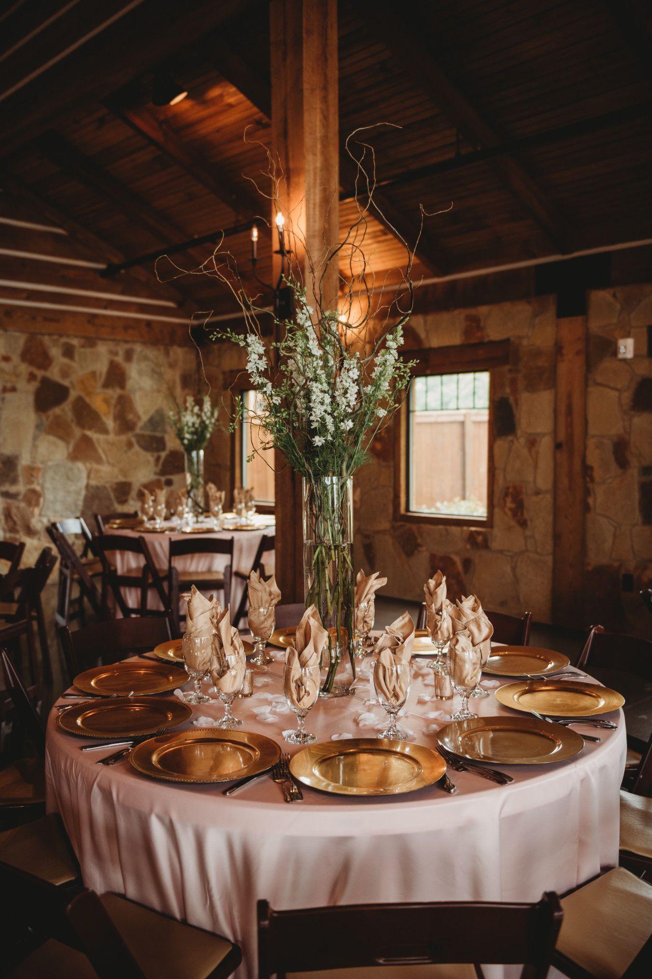 Blush Pink Gold Wedding Table Decor Gold Blush Pink Wedding