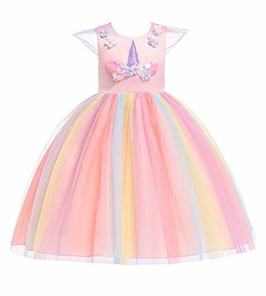 Sponsored Ebay Vestido De Unicornio Para Niñas 8 9 10 Años Vestidos Cumpleaños Birthday Fies Unicorn Fancy Dress Unicorn Dress Girls Girls Christmas Dresses