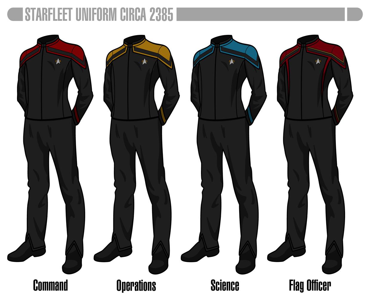 Trek changes star uniform What Do